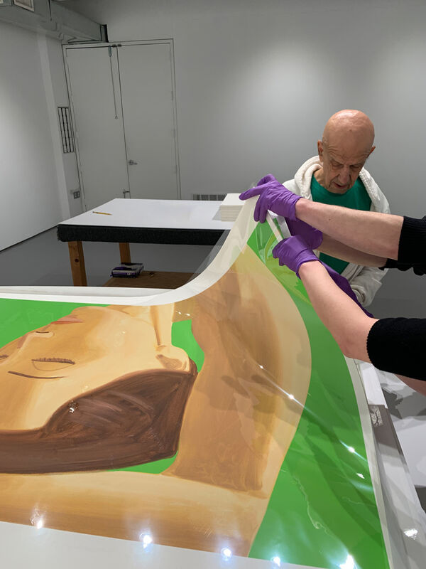 Alex Katz, 'Homage to Degas', 2020, Print, Archival pigment ink on Innova Etching Cotton Rag 315 gsm fine art paper, ARC Fine Art LLC