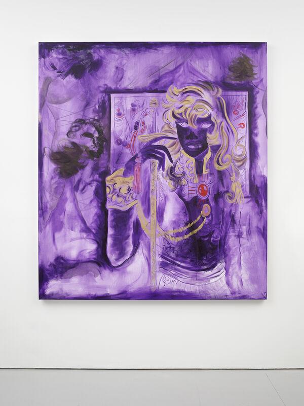 Nicholas Grafia, 'The Executor', 2021, Painting, Acrylic on canvas, Andersen's