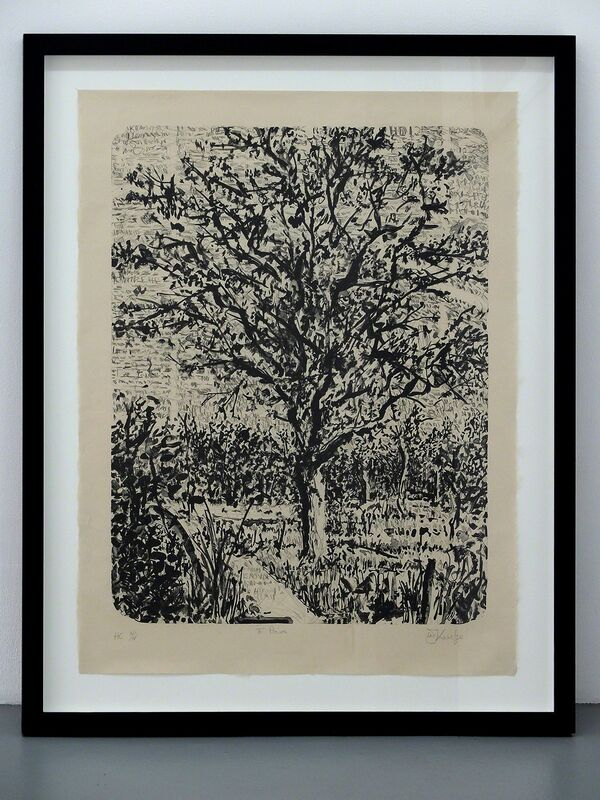 William Kentridge, 'Stone Tree I', 2013, Print, Lithography, Gilles Drouault, galerie/multiples