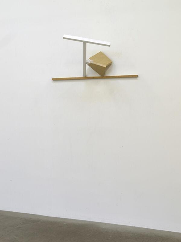 Paul Wallach, 'JNCTN', 2020, Sculpture, Wood, gauze, plaster, paint, Jeanne Bucher Jaeger