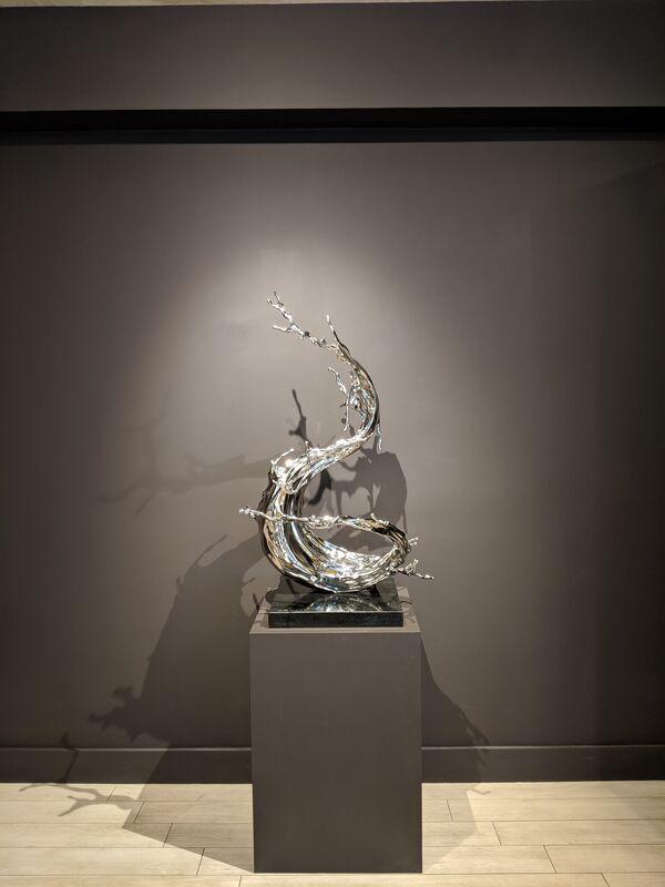 Zheng Lu 郑路, 'Yan Fei', 2019, Sculpture, Stainless steel, Sundaram Tagore Gallery