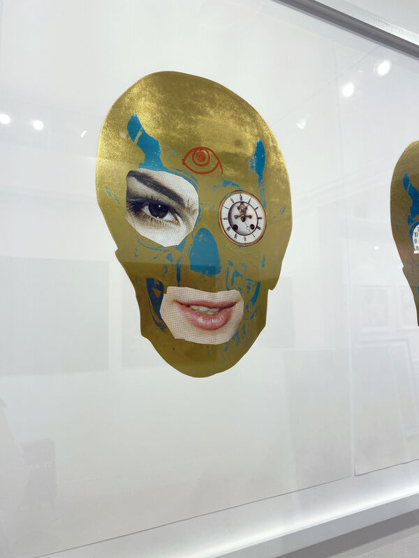 Damien Hirst, 'The Dawn of Golden Time ', 2013, Mixed Media, Foil block collage on Arches 88 paper with hand embellishment, DTR Modern Galleries