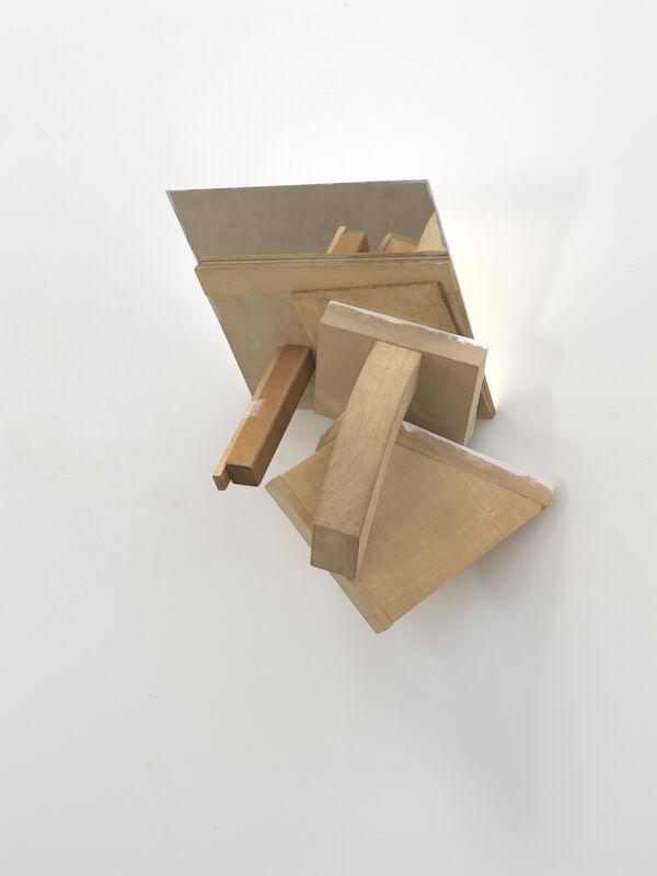 Paul Wallach, 'Mirror Mirror', 2021, Sculpture, Wood, mirror, canvas, paper, paint, Jeanne Bucher Jaeger