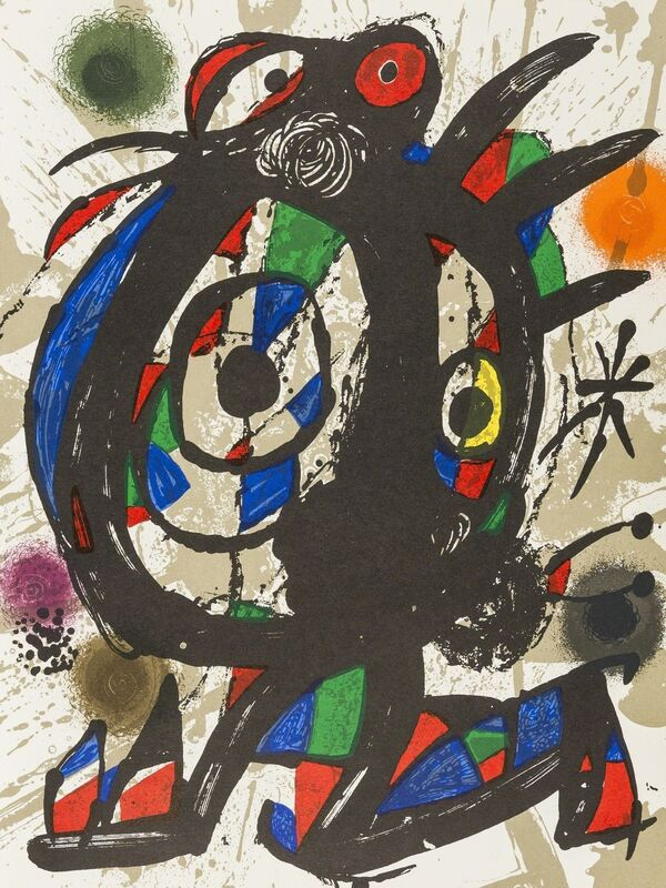 Joan Miró, 'Lithographe I-IV', 1972-1982, Books and Portfolios, The four volumes, comprising circa 30 lithographs printed in colours, Forum Auctions
