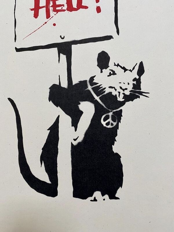 Banksy, 'Welcome to Hell', 2004, Print, Screenprint in colors on wove paper with full margins, MoonStar Fine Arts Advisors