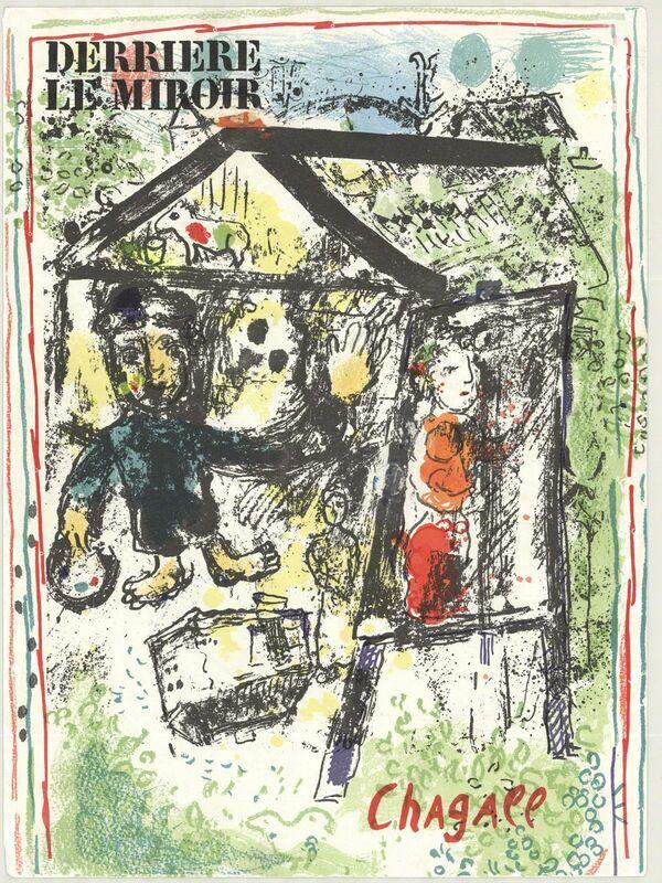 Marc Chagall, 'Derriere Le Miroir Cover', 1969, Print, Lithograph, ArtWise