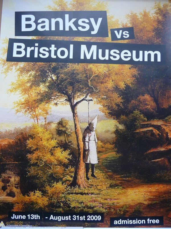 "Banksy, 'BANKSY VS BRISTOL MUSEUM ""KLANSMAN"" POSTER ', 2009, Ephemera or Merchandise, Offset lithograph, Arts Limited"