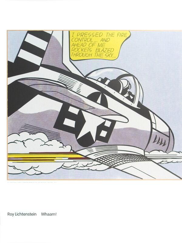 Roy Lichtenstein, 'Whaam A', 2007, Ephemera or Merchandise, Offset Lithograph, ArtWise