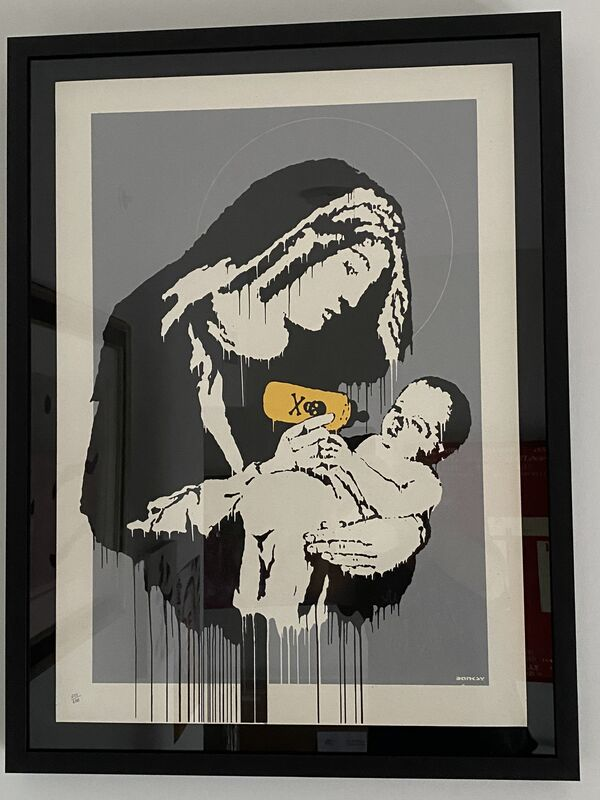 Banksy, 'Toxic Mary', 2003, Print, Screenprint in colors on wove paper, MoonStar Fine Arts Advisors