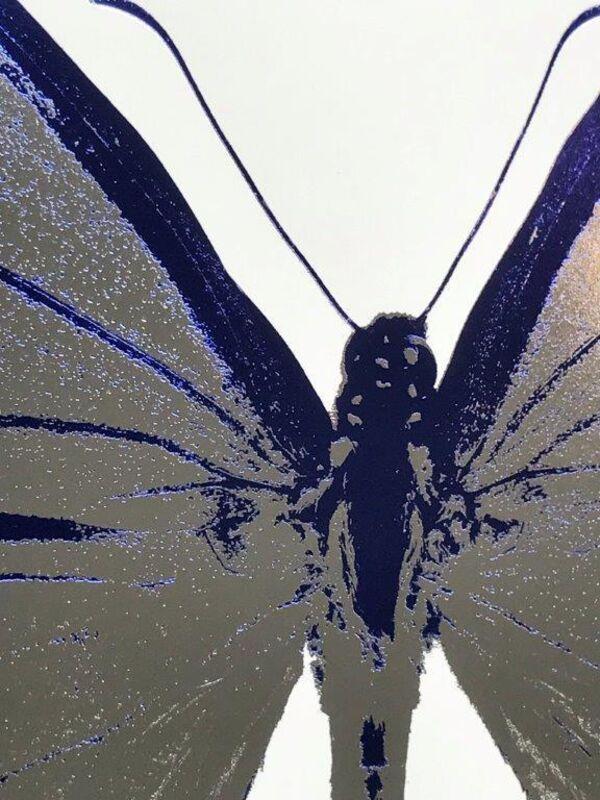Damien Hirst, 'The Souls IV - Silver Gloss Westminster Blue', 2010, Print, Foilblock print, Kunsthuis Amsterdam