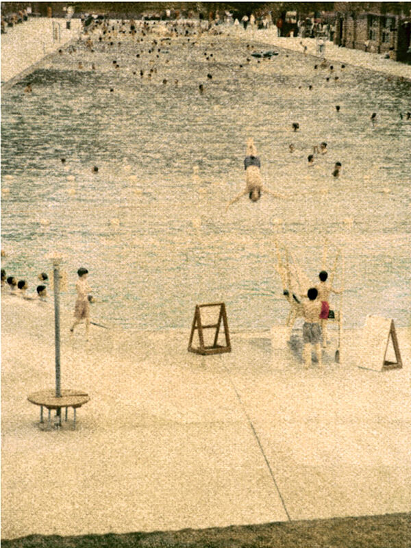 John Huggins, 'Glenwood, Hot Springs, Colorado', 2008, Photography, K-3 pigment print, Sears-Peyton Gallery