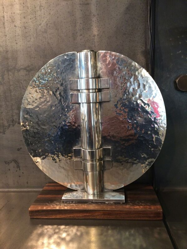 Jean Després, 'Soliflore', ca. 1930, Design/Decorative Art, Silver plated, Jean-David Botella