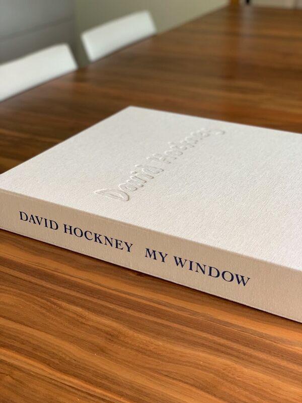 David Hockney, 'David Hockney. My Window', 2020, Books and Portfolios, 248pages, Hardcover in clamshell box, Viacanvas