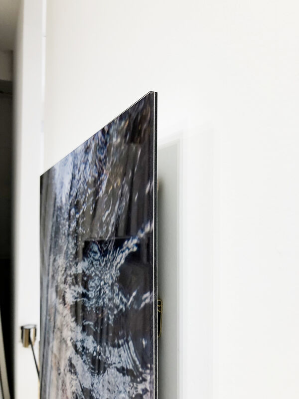 Barbara Cole, 'Sonia's Suite Lenticular, from White NOise', 2017, Photography, Interlaced Inkjet Print with Lenticular Lens, Framed in White, Bau-Xi Gallery