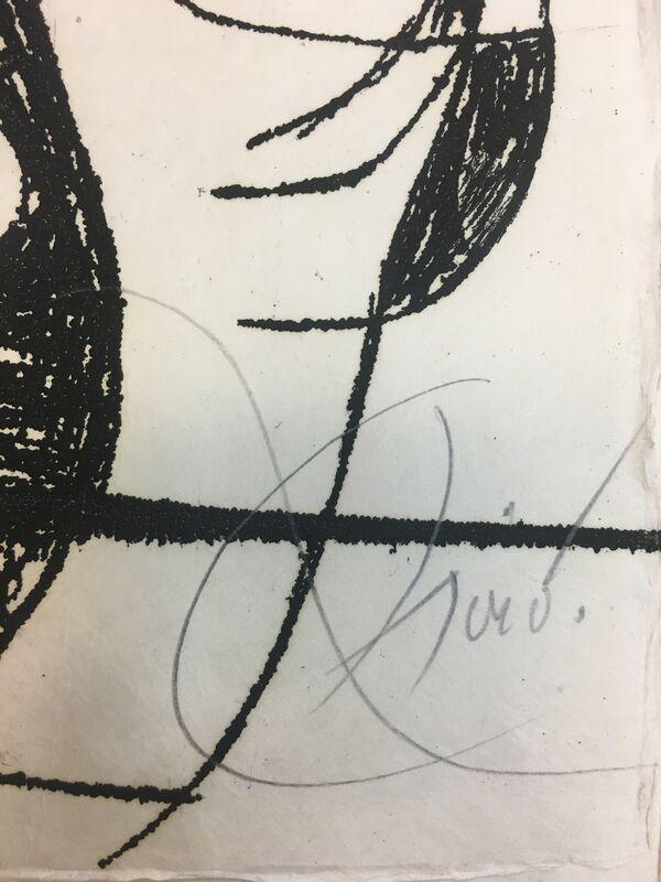 Joan Miró, 'Inscribe', 1975, Print, Baterbys