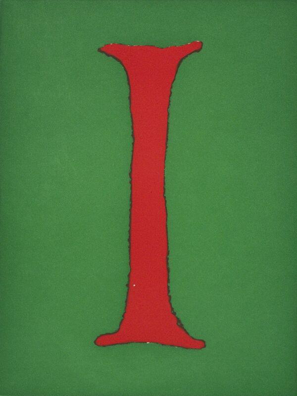 Donald Baechler, 'ALPHABET, (Portfolio)', 2003, Print, Aquatint, Xerox transfer aquatint and hardground etching, Paulson Fontaine Press