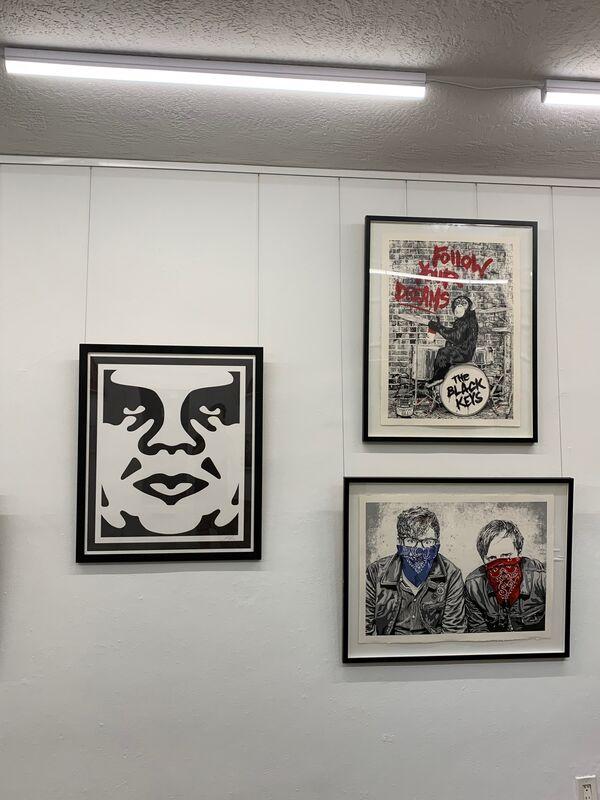 Mr. Brainwash, 'Black Keys LA I ', 2012, Print, Screen Print, End to End Gallery