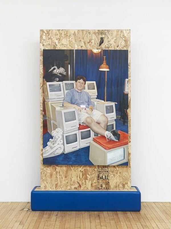 Jon Rafman, 'Altar', 2015, Installation, Wood, canvas, acrylic, nylon padding, Feuer/Mesler