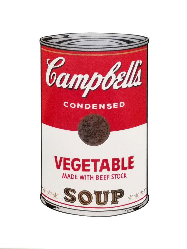 Andy Warhol, 'Vegetable Soup', 1970, Print, Colour serigraphs on vellum., NextStreet Gallery