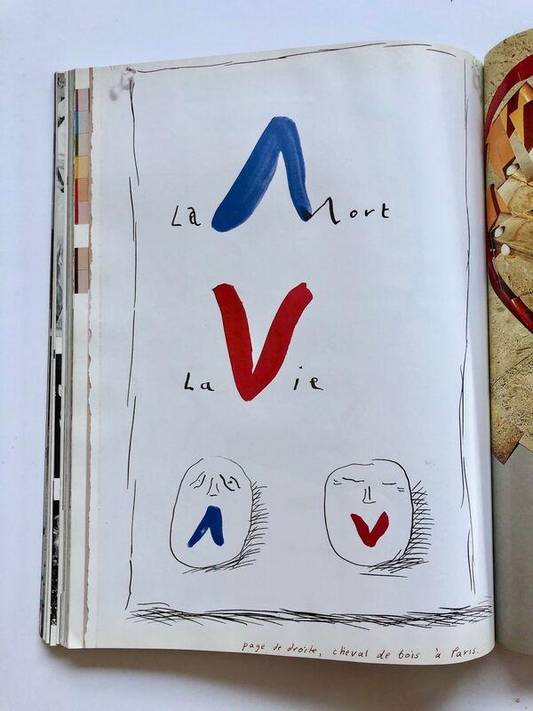 David Hockney, 'Paris Vogue', 1985, Ephemera or Merchandise, Lithographic magazine, Gallery 52