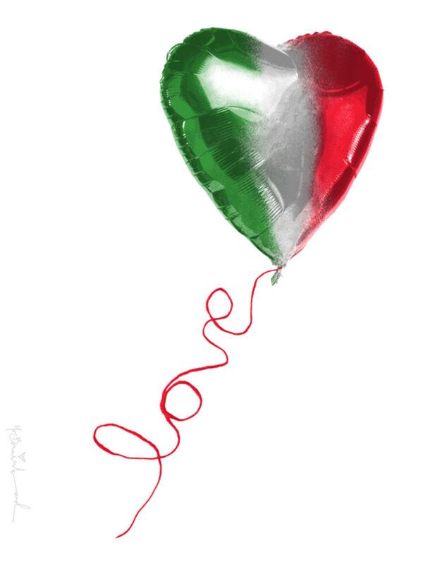 Mr. Brainwash, 'I Love Italy', 2020, Print, Art paper, AYNAC Gallery