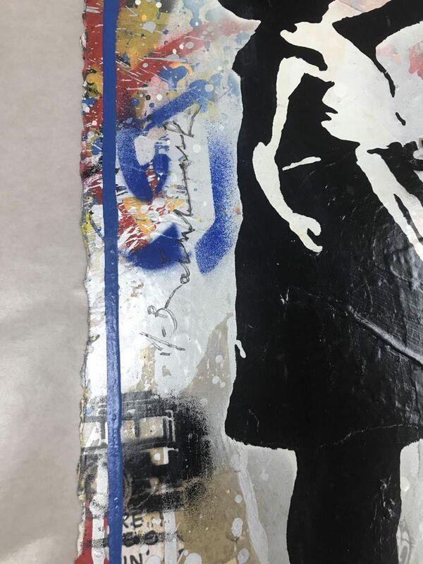 Mr. Brainwash, 'Balloon Girl', 2019, Print, Silkscreen & Mixed Media, Hamilton-Selway Fine Art Gallery Auction