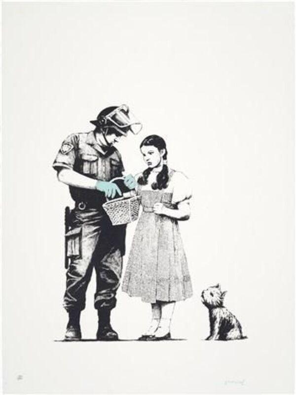 Banksy, 'Stop & Search', 2007, Print, Screenprint in colors, David Benrimon Fine Art