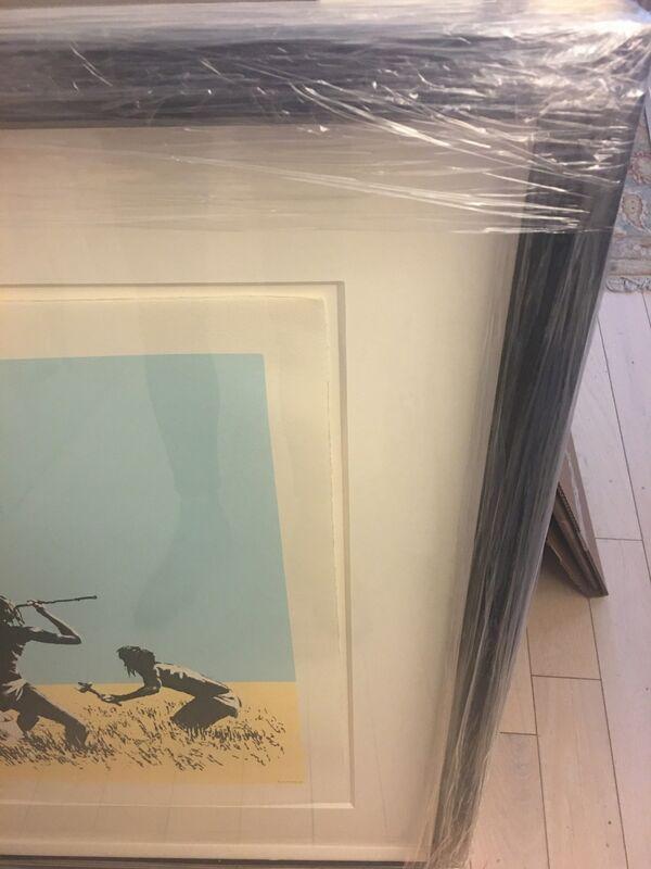 Banksy, 'Trolley Hunters (Colour)', 2007, Print, Screenprint on wove paper, Puccio Fine Art