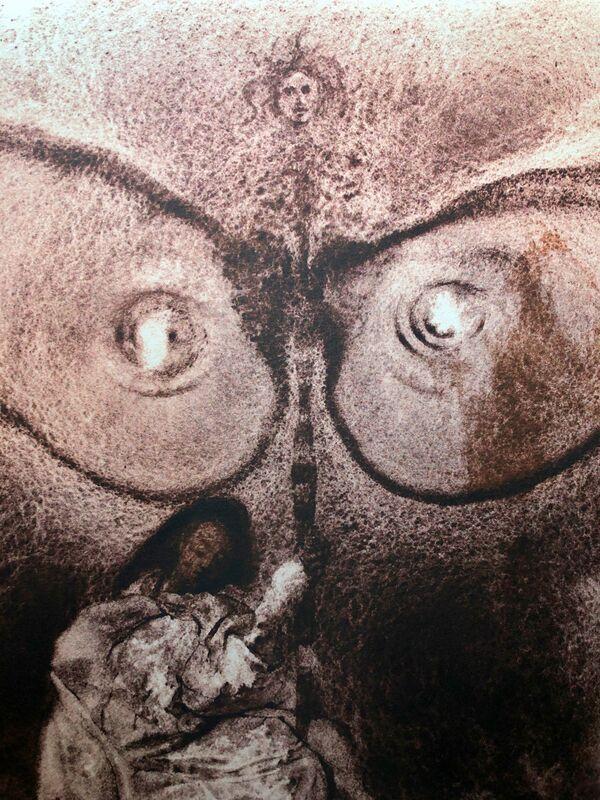 Salvador Dalí, 'Before You Came Out From The Womb I Sanctified You, 'Antequam Exires De Vulva Sanctificavi Te', Biblia Sacra', 1967, Print, Original Lithograph, Inviere Gallery