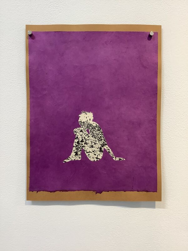 Jessica Maffia, 'Untitled 2', 2020, Drawing, Collage or other Work on Paper, Hand-cut paper on handmade paper, Kenise Barnes Fine Art