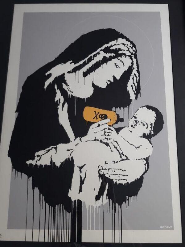 Banksy, 'Toxic Mary', 2003, Print, Screen-print in colors on wove paper, MoonStar Fine Arts Advisors