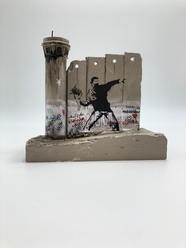 Banksy, 'Walled Off Hotel - Wall Sculpture', 2018, Sculpture, Miniature concrete souvenir sculpture, hand painted by local artists, Lougher Contemporary Gallery Auction