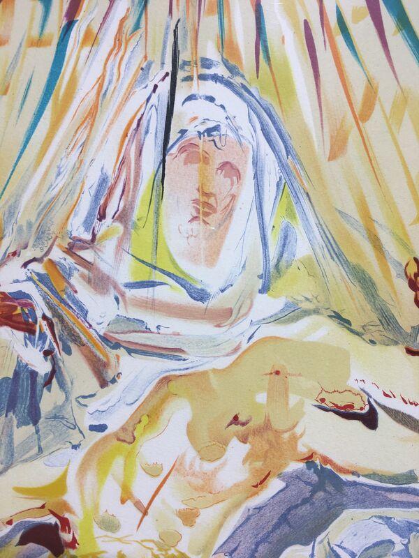 Salvador Dalí, 'La Pieta Nera (Black Madonna)', 1974, Print, Lithograph, Gregg Shienbaum Fine Art