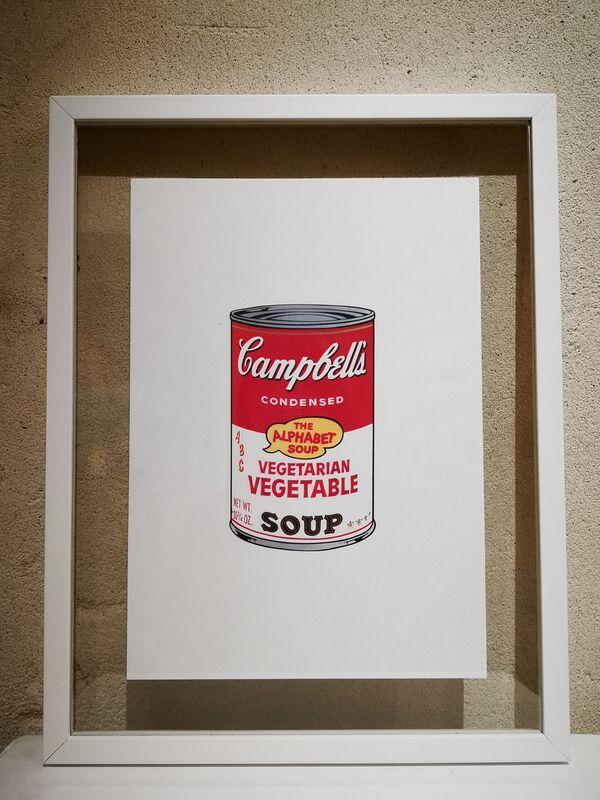 Andy Warhol, 'Vegetarian Vegetable Soup', 1970, Print, Colour serigraphs on vellum, NextStreet Gallery