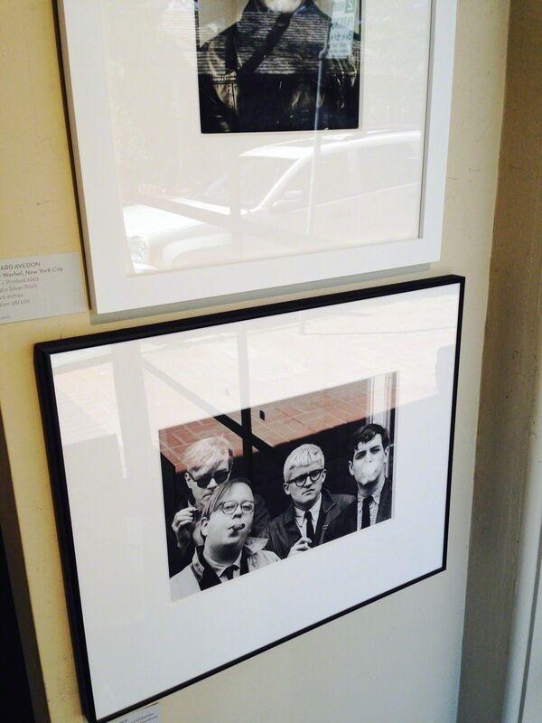 Dennis Hopper, 'Andy Warhol, Henry Geldzahler, David Hockney and David Goodman', 1963, Photography, Silver Gelatin Print, Weston Gallery