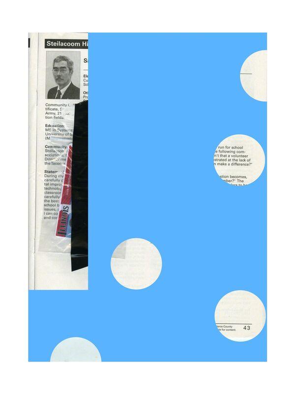 Brad Troemel, 'Blue Illinois ID Card', 2013, Mixed Media, Digital print on dibond, industrial hardware, ROOM EAST