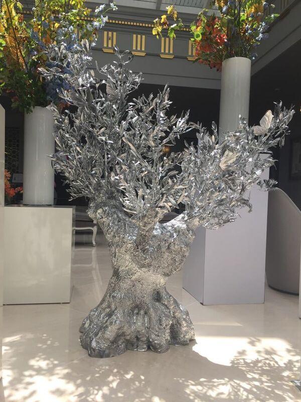 Philippe Pasqua, 'olivier en bronze', 2019, Sculpture, Bronze, Krystel Ann Art