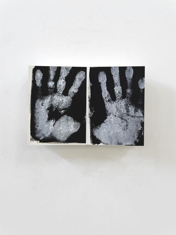 Paul Wallach, 'Betoken ', 2020 , Sculpture, Wood, paper, canvas, paint, Jeanne Bucher Jaeger