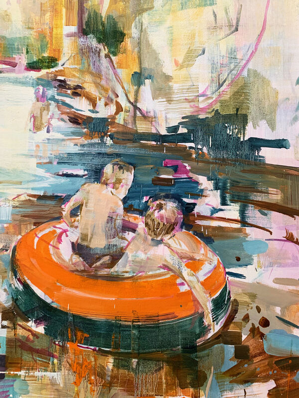 Katharine Le Hardy, 'Wishes', 2021, Painting, Oil on canvas, Candida Stevens Gallery