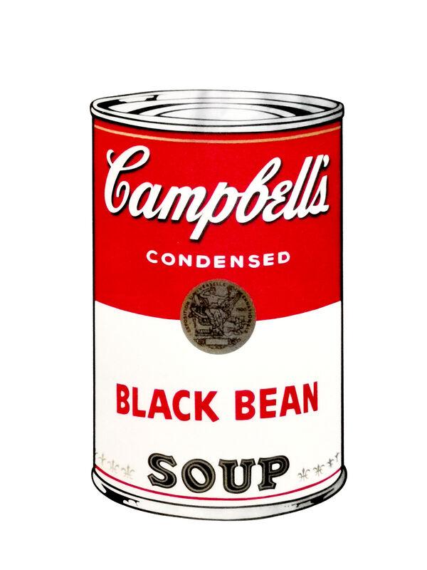 Andy Warhol, 'Black Bean Soup', 1970, Print, Colour serigraphs on vellum, NextStreet Gallery