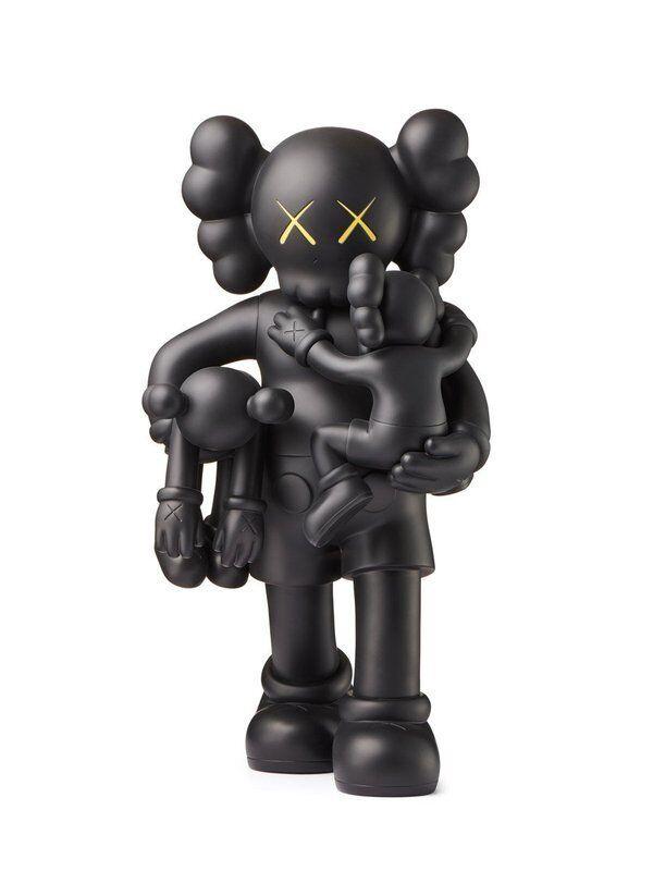 KAWS, 'Clean Slate (Black)', 2018, Sculpture, Painted Cast Vinyl, Lougher Contemporary