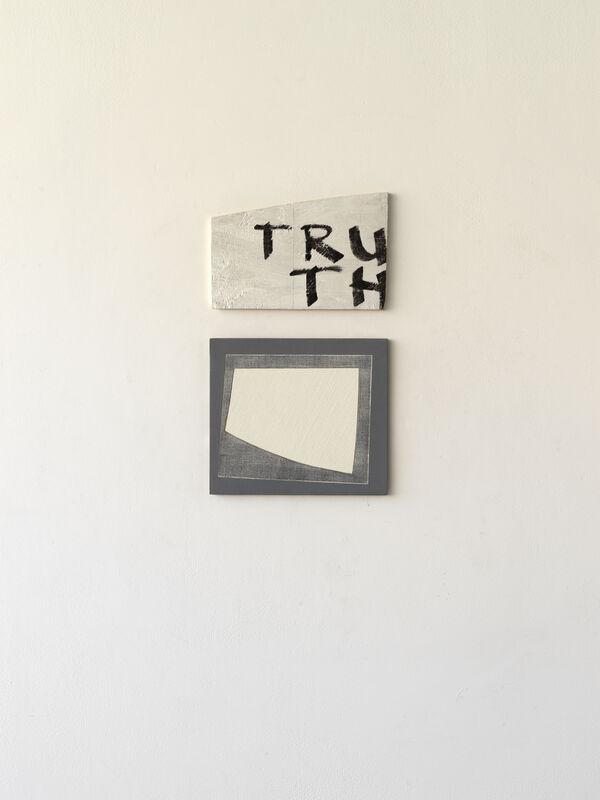 Paul Wallach, 'TRU TH', 2020, Sculpture, Wood, canvas, paint, Jeanne Bucher Jaeger
