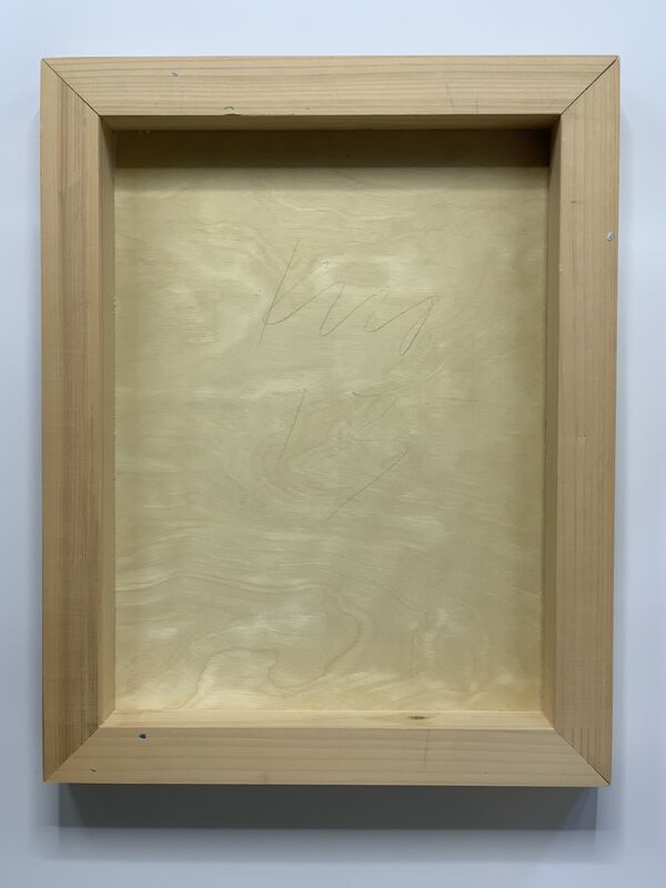 Andrew Kuo, 'Days (Baseball Field)', 2013, Painting, Acrylic and carbon transfer on wood, Artificial Gallery