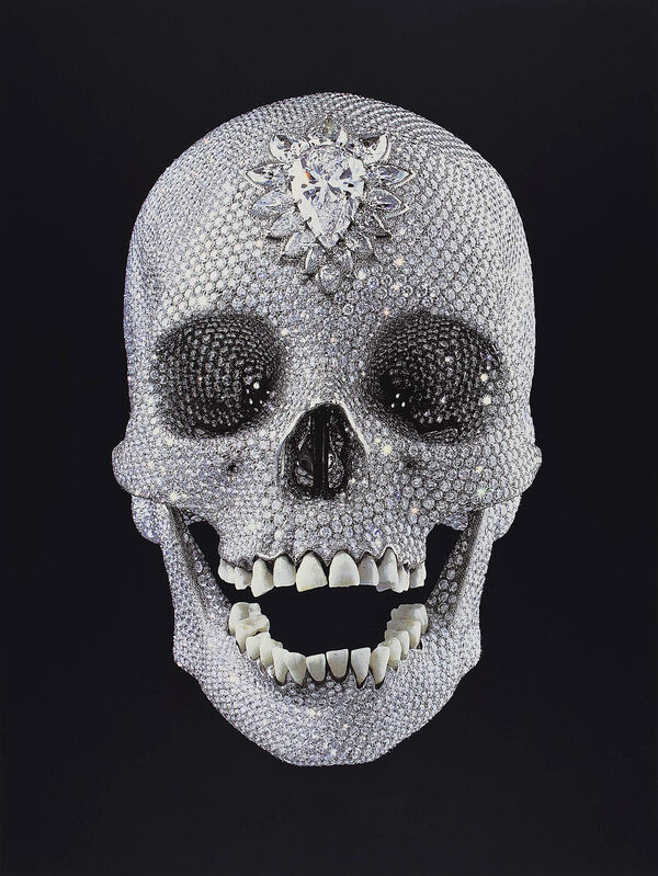 Damien Hirst, 'For The Love Of God', 2011, Print, Screen print in colours on wove paper, Tate Ward Auctions