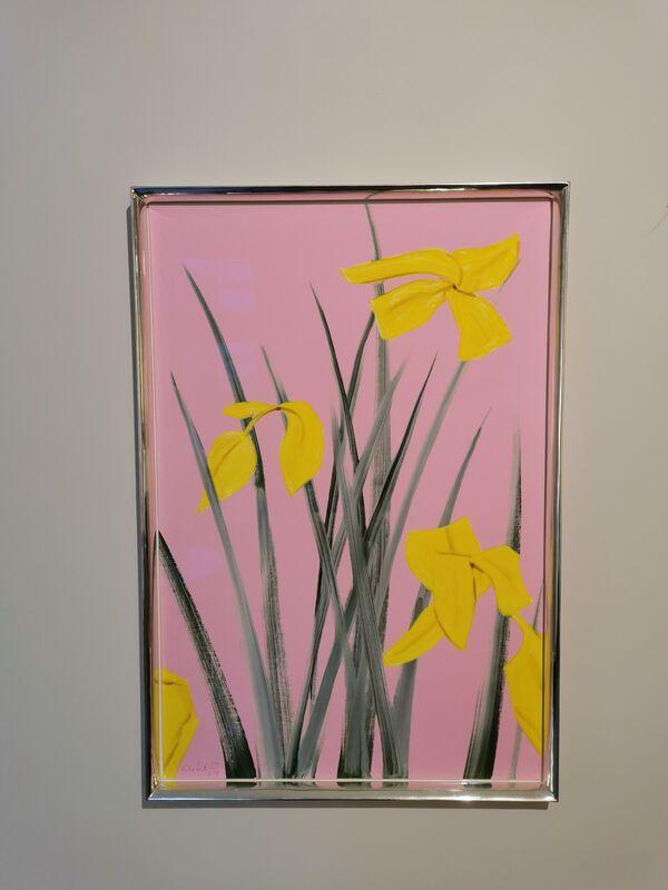 Alex Katz, 'Yellow Flags 3', 2020, Print, Print on paper, Galerie Schimming