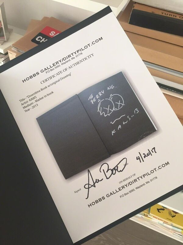 KAWS, 'Downtime Book w/original Drawing', 2013, Ephemera or Merchandise, Paper, Dope! Gallery