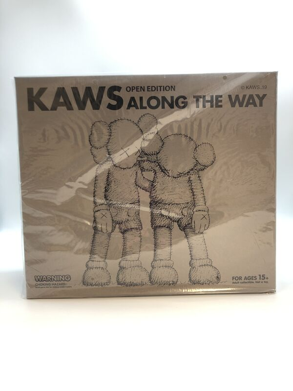 KAWS, 'Along the Way (set of 3)', 2019, Sculpture, Painted cast vinyl, Lougher Contemporary Gallery Auction