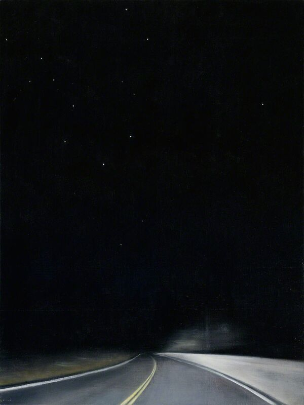 Linda Davidson, 'Night Road 2', 2015, Painting, Oil and wax on linen on panel, G. Gibson Gallery