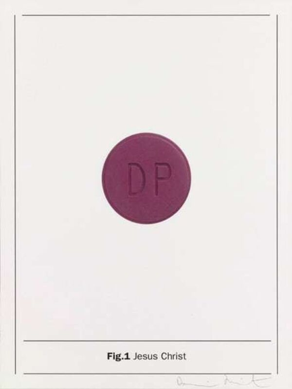 Damien Hirst, 'Fig.1 Jesus Christ', 2005, Print, Silkscreen on Somerset satin 410gsm, The Drang Gallery