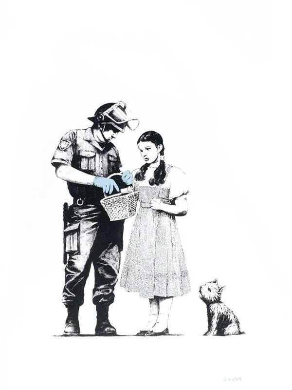 Banksy, 'Stop and Search', 2007, Print, Screen print, Oliver Clatworthy